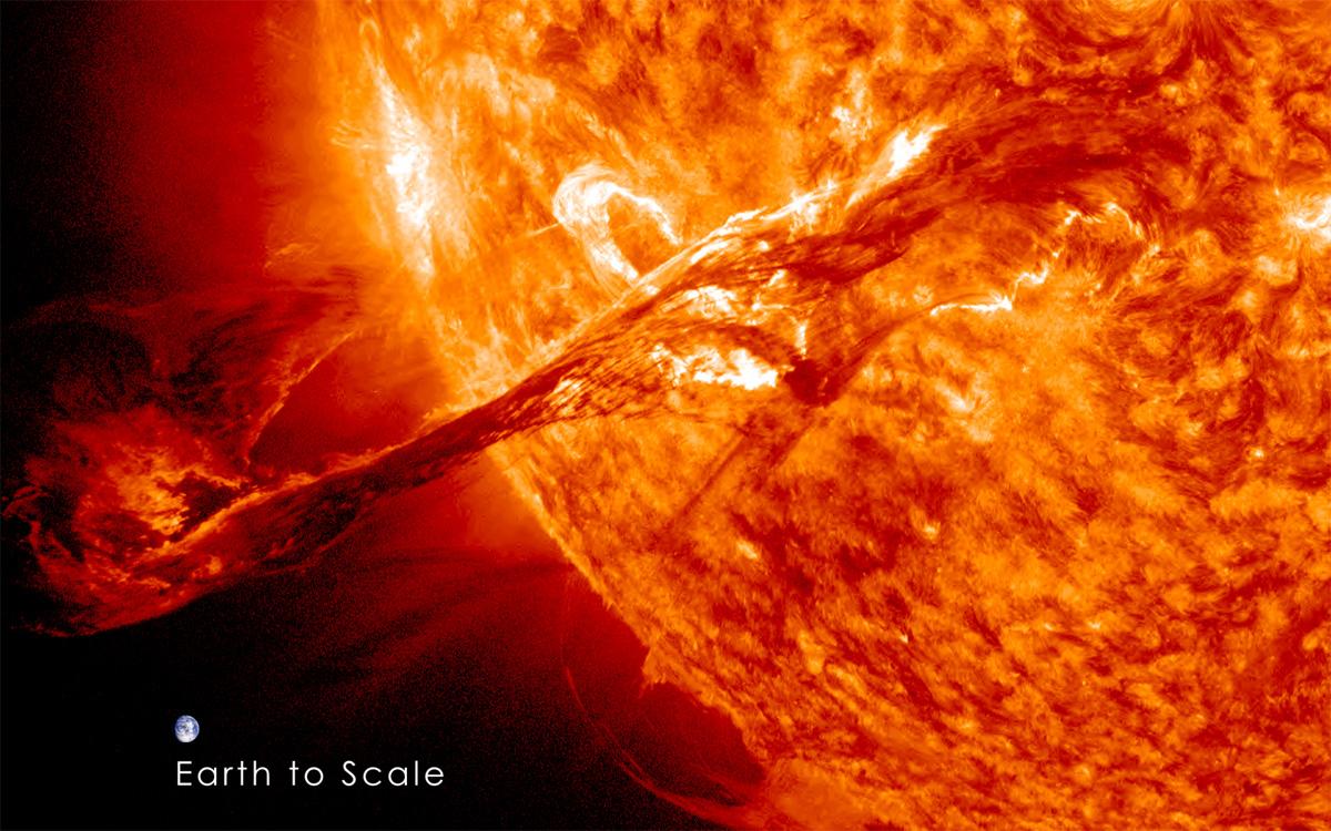 Die Erde, in der wir leben und der Raum, der die Welt ist - Seite 17 Sonne3