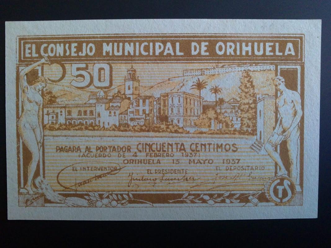 50 centimos Orihuela (Alicante) 13 Mayo 1937 01022013007