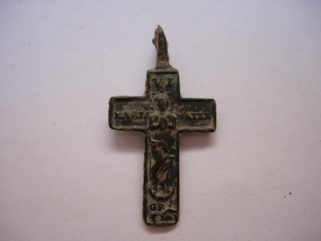 Crucifijo bifaz Inmaculada, S-XVIII C_002