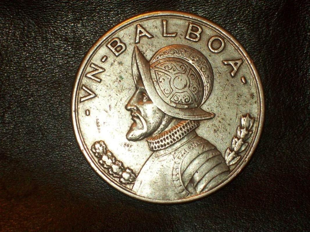 1 Balboa. Panama. 1931. San Francisco Panama_1931_1_balboa_de_plata_1
