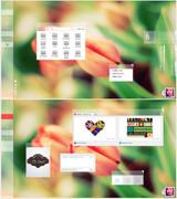 ثيم ويندوز سيفن الرائع Tulip VS Theme For Windows 7 Preview