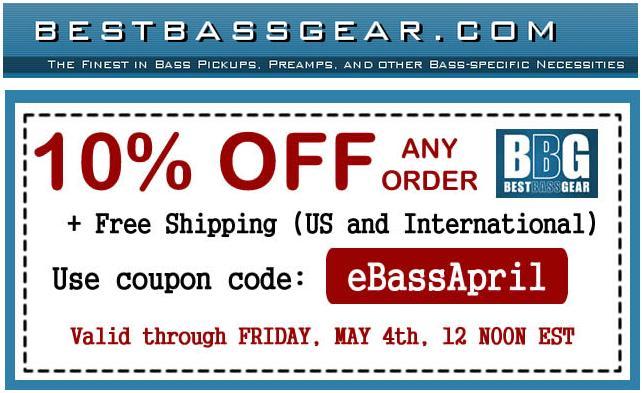 Promoção na Best Bass Gear: 10% de desconto + frete grátis até 04/05/2012 BBG_promo_o
