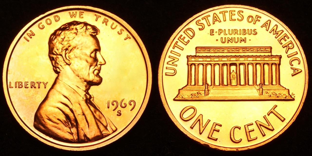 Coleccion Centavos Lincoln 1909-2016 1969_s