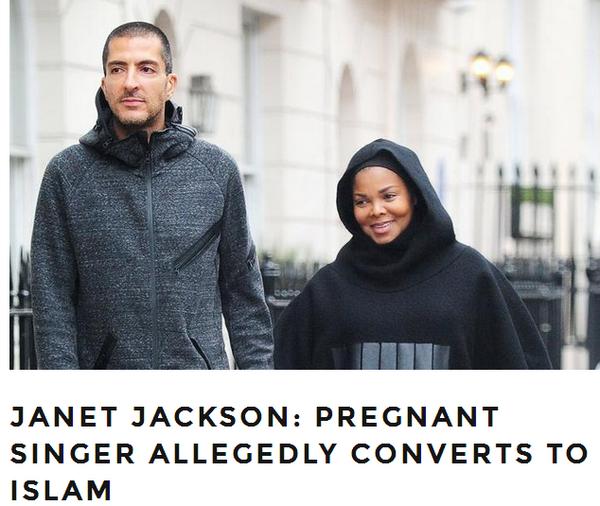 Janet Jackson convertie a l'islam  Image