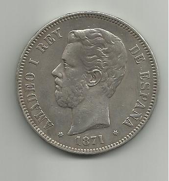 5 pesetas 1871 *71 Amadeo I 5_pesetas_Amadeo_I_1871_71_SD_M_anverso