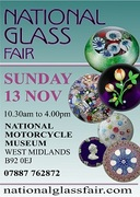 UK - National Glass Fair - Sunday 13th November ** N16flyer200