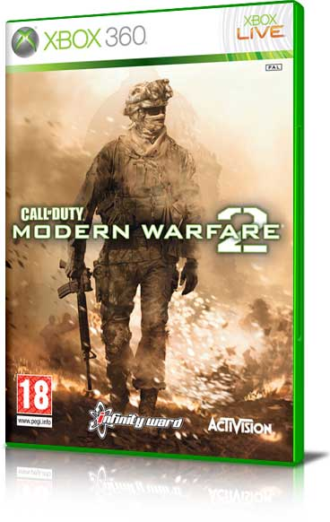 XBOX 360 Game Call_of_duty_modern_warfare_2_classics_x360_6884