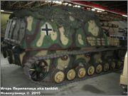 """Немецкая 15,0 см САУ """"Hummel"""" Sd.Kfz. 165,  Deutsches Panzermuseum, Munster, Deutschland Hummel_Munster_159"""