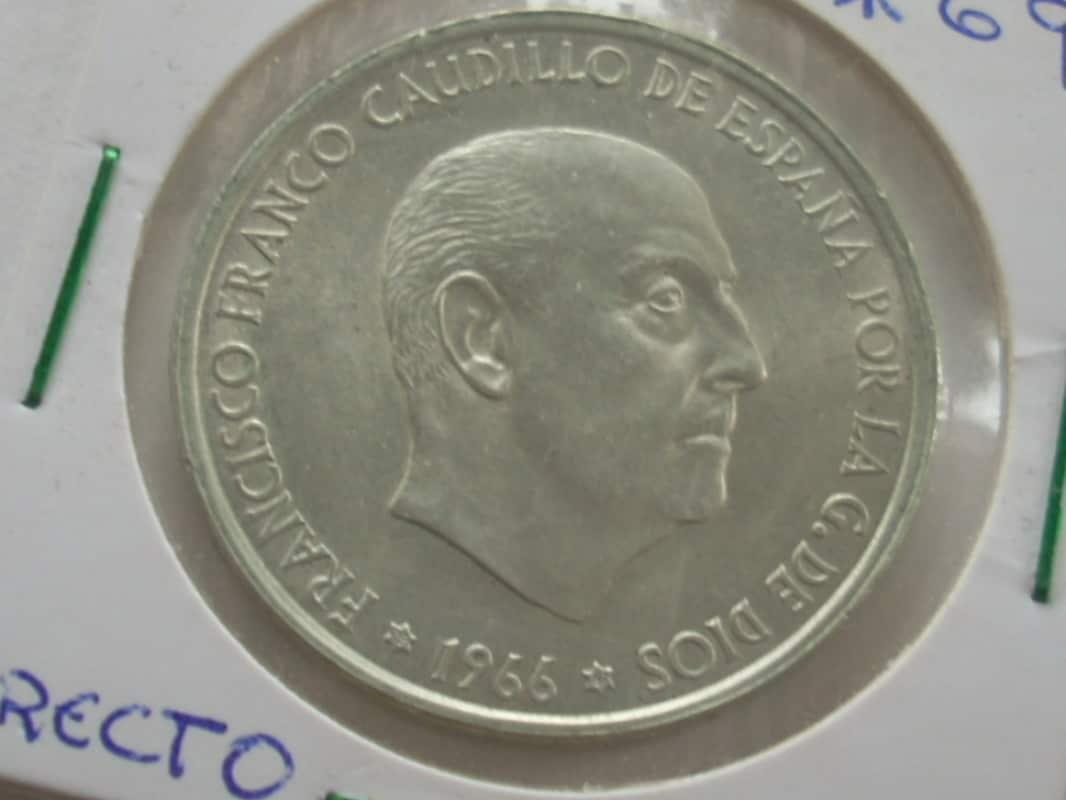 100 pesetas 1966. Estado Español (*69 PALO RECTO) RSCN7362