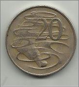 20 centavos de dolar australianos 1966 20_centavos_aus_1966_r