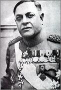 2 Dinares República de la Salvación Nacional de Serbia  Milan_Nedi_1939