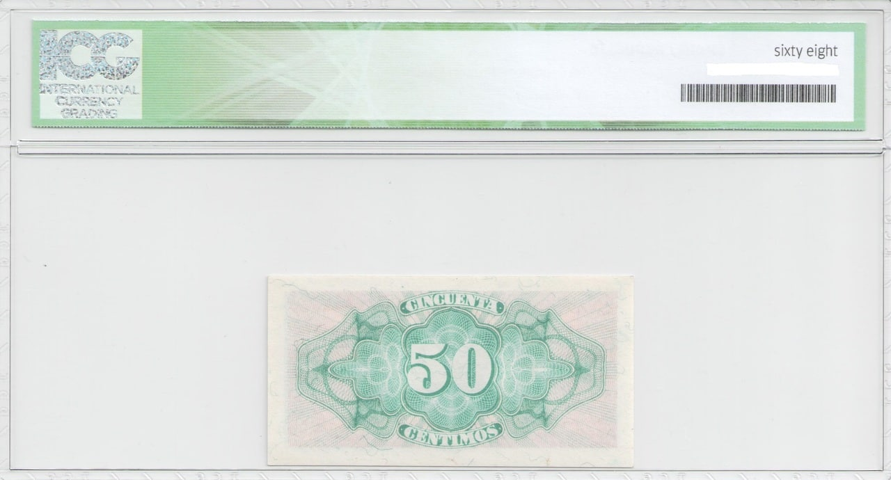 Colección de billetes españoles, sin serie o serie A de Sefcor 50_ctm_del_37_reverso
