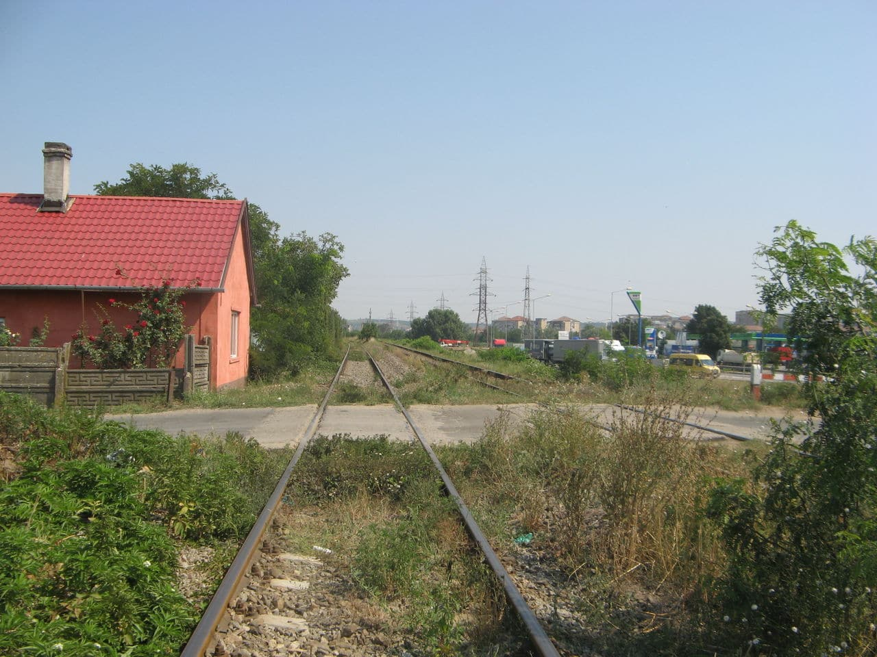 Calea ferată directă Oradea Vest - Episcopia Bihor IMG_0009