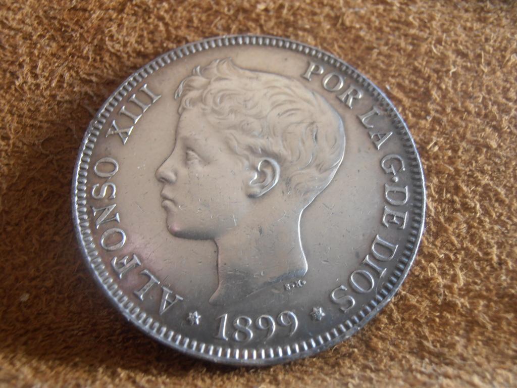 5 Pesetas 1899. Alfonso XIII P9160011