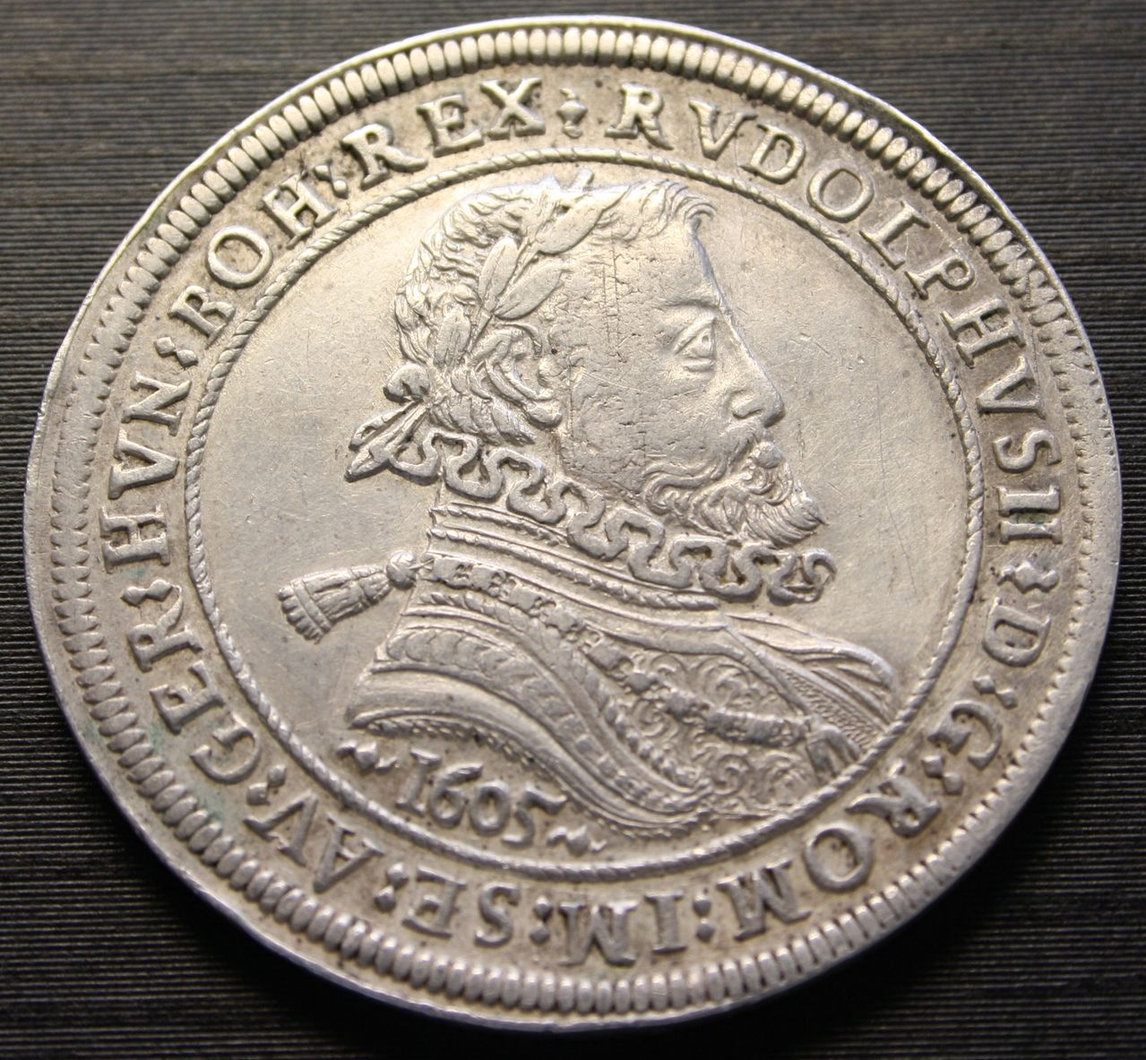 2 reales 1723. Felipe V. Madrid Rudolf_anverso