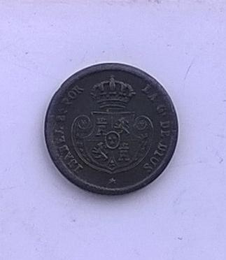 Décima de real 1853, Isabel II WP_20141109_015