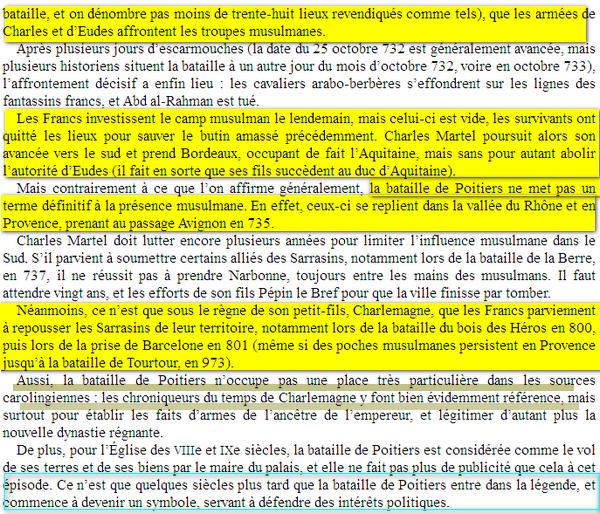 Mythe de charles Martel poitiers Image