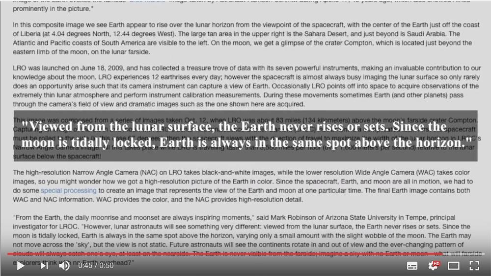 Die Erde, in der wir leben und der Raum, der die Welt ist - Seite 35 Erdaufgang