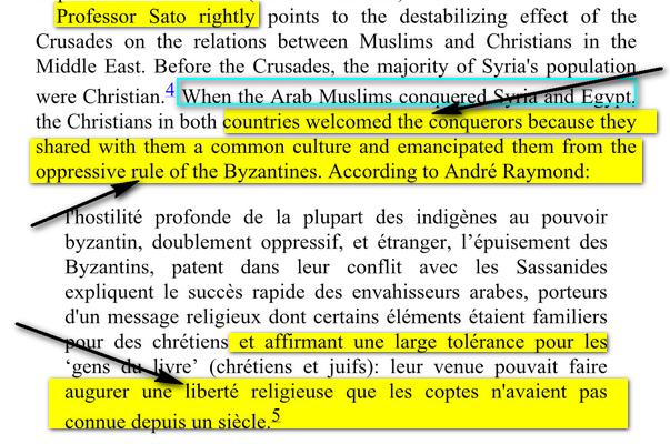 conquéte musulmane et libération des peuples Bilad el-Cham( Syrie+Palestine) 555