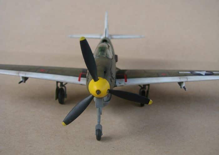 P-39Q Airacobra, 1/72, Academy (rebuild) DSC02943