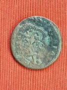 4 maravedis Felipe III ceca SEGOVIA con resellos. 2600_2