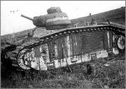 Камуфляж французских танков B1  и B1 bis Char_B1bis_46_Charente