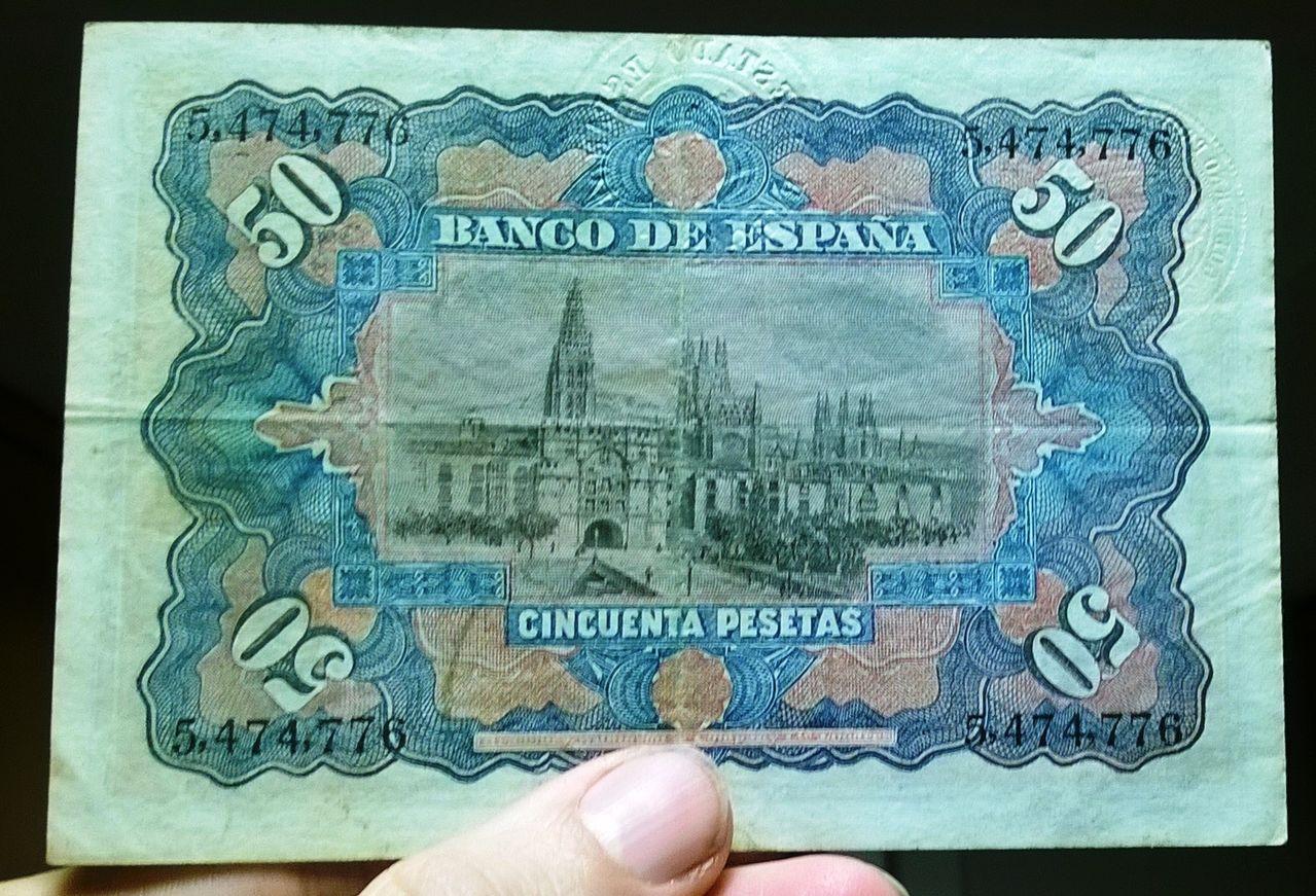 1907 - 50 pesetas 1907 (Doble sello seco, Burgos-República) WP_20151224_013