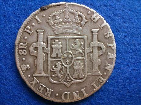 8 reales 1808 carlos IV- Potosí 8rc4_r