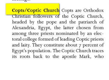 conquéte musulmane et libération des peuples:EGYPTE Image
