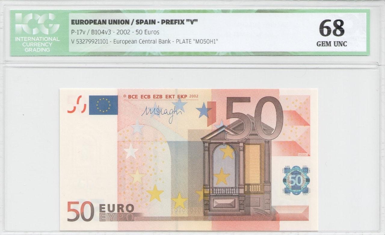 Colección de billetes españoles, sin serie o serie A de Sefcor - Página 2 50_euros_V_anverso