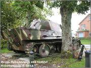 "Немецкий тяжелый танк PzKpfw V Ausf.G  ""Panther"",  rue D'Erezee, Manhay, Belgique Panther_Manhay_072"