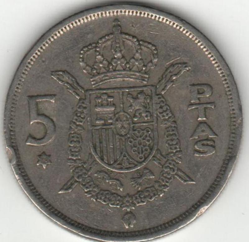 5 Pesetas 1975* 78 Juan Carlos I Reverso_5_pesetas
