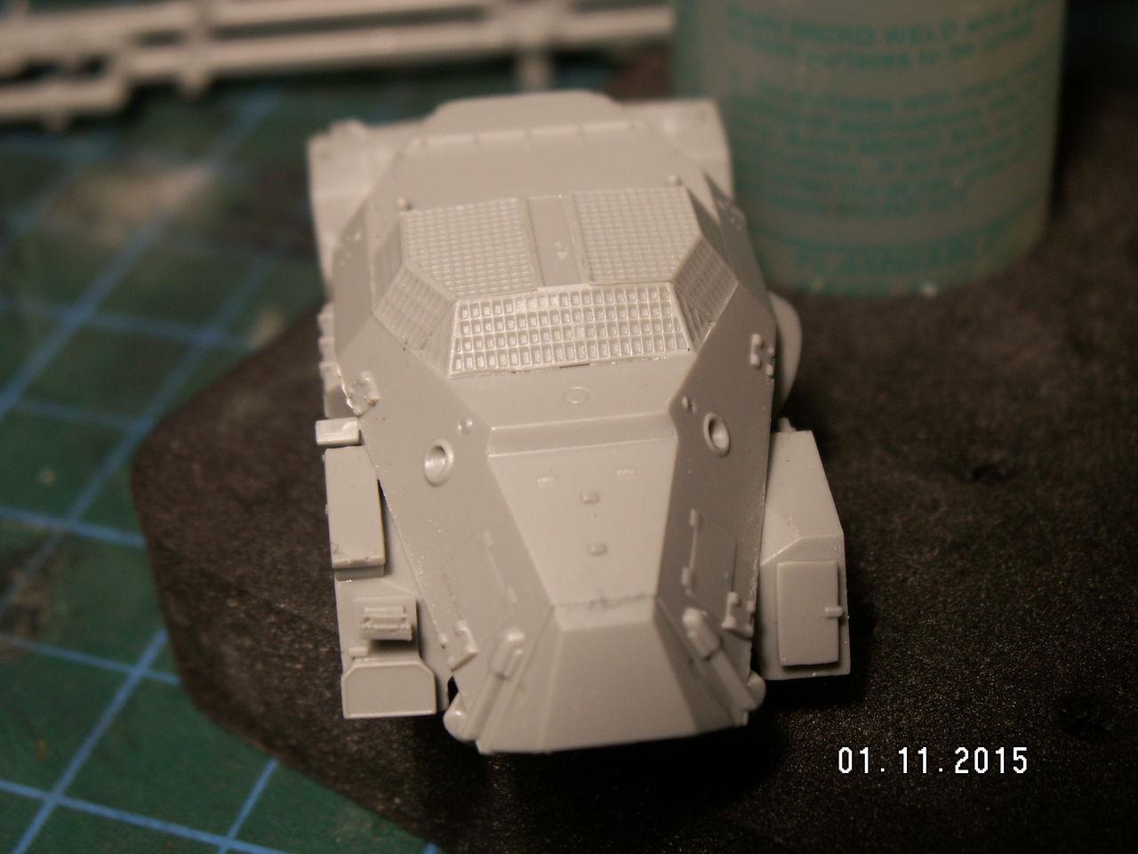 Sd.Kfz. 261 Kleiner Panzerfunkwagen PICT0136
