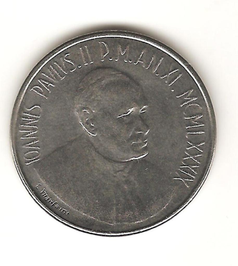 50 liras El Vaticano 1989 Image