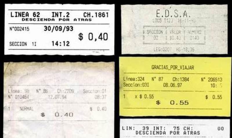 1 Centavo. Argentina. 1992  Boleto