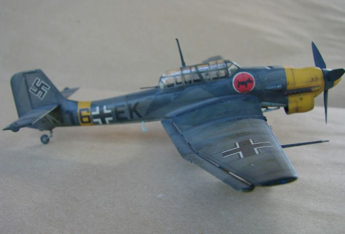 Ju-87B-2 Stuka, Fujimi, 1/72 DSC00350