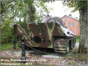 "Немецкий тяжелый танк PzKpfw V Ausf.G  ""Panther"",  rue D'Erezee, Manhay, Belgique Panther_Manhay_059"