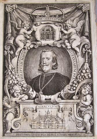 Grabado retrato de Felipe IV. 1657. Autor Pedro de Villafranca. Dedicado a Jotasoler 100_2289_2