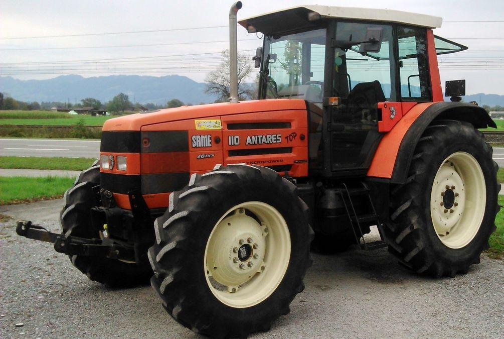 Hilo de tractores antiguos. - Página 24 SAME_ANTARES_II_110_DT