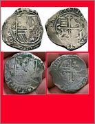 8 reales macuquinos. Felipe III. Méjico. MF (1607-1617) Photo_Grid_1453763677717