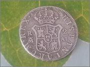 2    reales   Carlos IV   Madrid   1808 20140220_140242