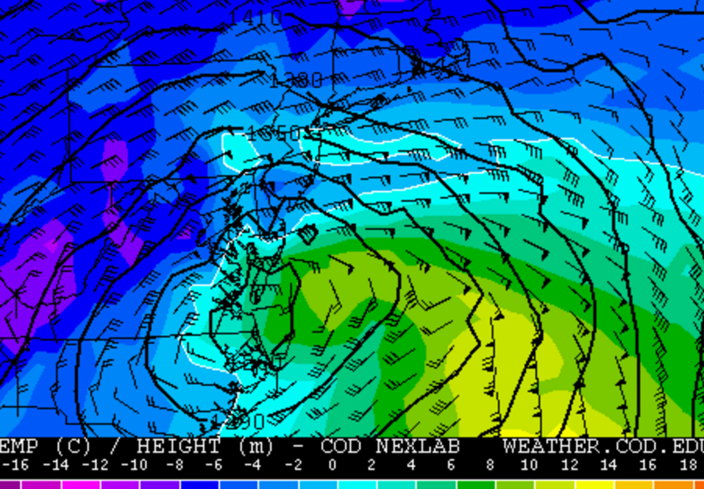 01/23/16 Storm Update #5 - It Is What It Is, Or Is It? 850mb_temps