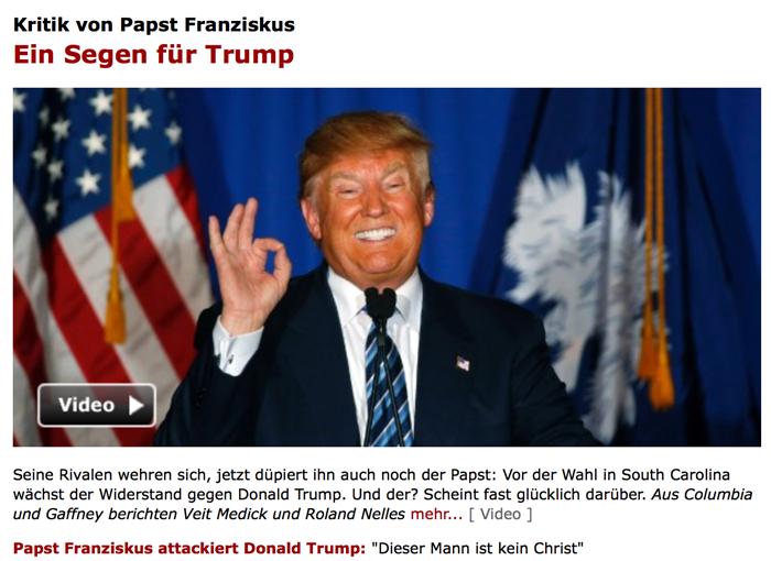 666 – Sechshundertsechsundsechzig – Waw Waw Waw Trump