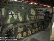 """Немецкая 15,0 см САУ """"Hummel"""" Sd.Kfz. 165,  Deutsches Panzermuseum, Munster, Deutschland Hummel_Munster_157"""