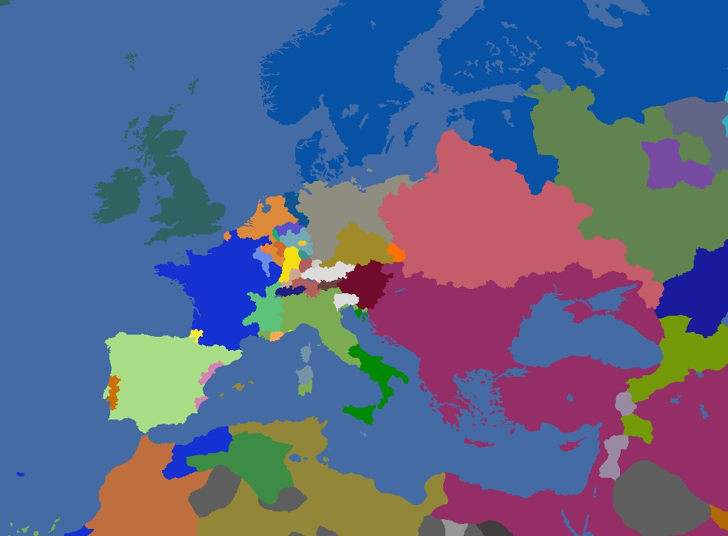 "MP-""Europa Divisa"" 1728"