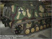 """Немецкая 15,0 см САУ """"Hummel"""" Sd.Kfz. 165,  Deutsches Panzermuseum, Munster, Deutschland Hummel_Munster_158"""