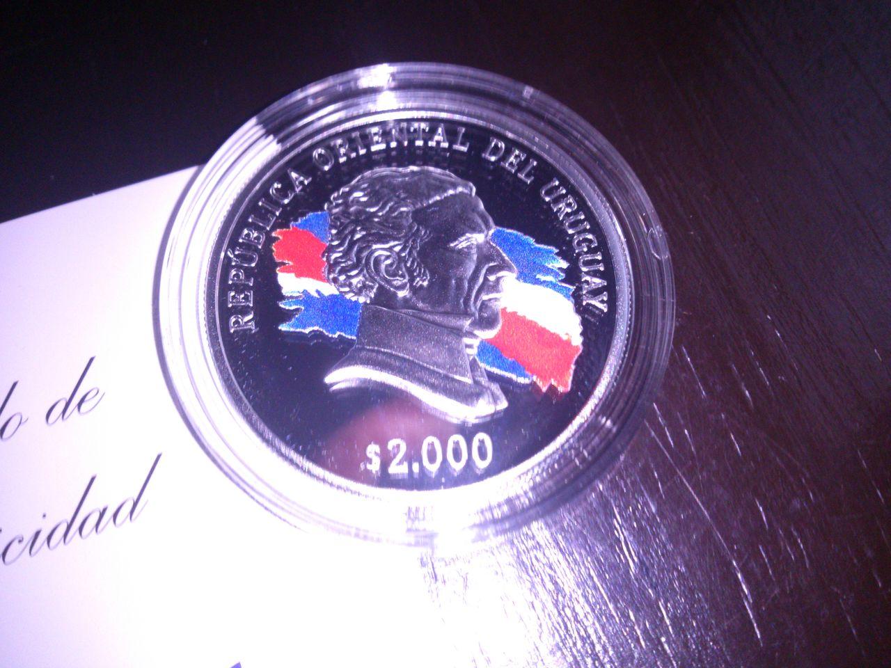 Monedas conmemorativas de Uruguay acuñadas en plata 1961 - Presente. DSC_8957