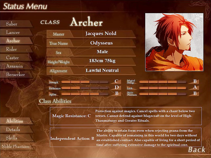 The Grail Games OOC Archer_status_2
