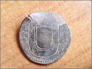 3 Reais. Portugal. Joao III el Piadoso 1521 - 1557 P1290240