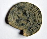 4 maravedíes a nombre de los Reyes Católicos ceca de  Cuenca-ensayador Pedro Román DSC_0277